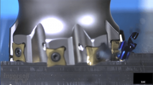 High Speed CNC Machining in Slow Motion