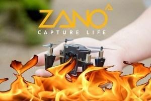 Zano Drone Crash and Burn