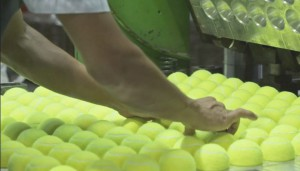 Making Tennis Balls