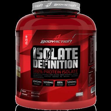 Isolate Definition  Body Action 100% Proteína Isolada