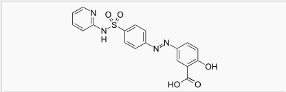 Sulfasalazine chemical structure.png