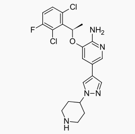 Crizotinib chemical structure.png