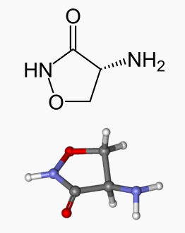 Cycloserine structure.png
