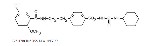 Chemical structure for glyburide.png
