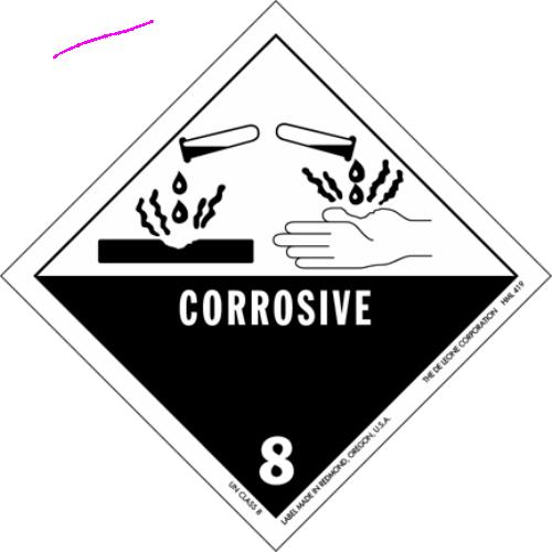 Class 8: Corrosive