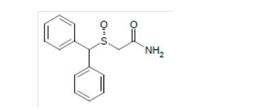 Armodafinil chemical structure.png