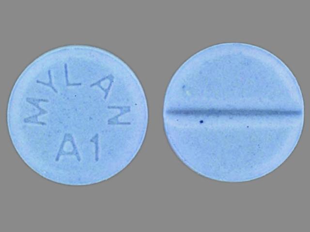 alprazolam pill looks like