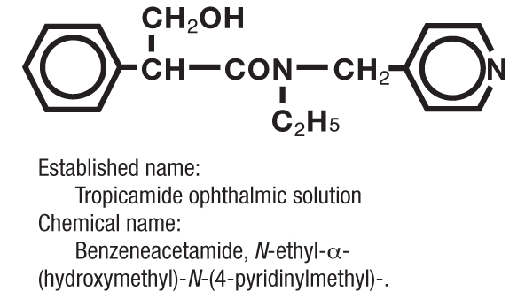 Tropicamide chemical structure.png