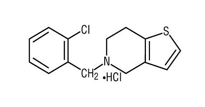 Ticlopidine Hydrochloride Solubility