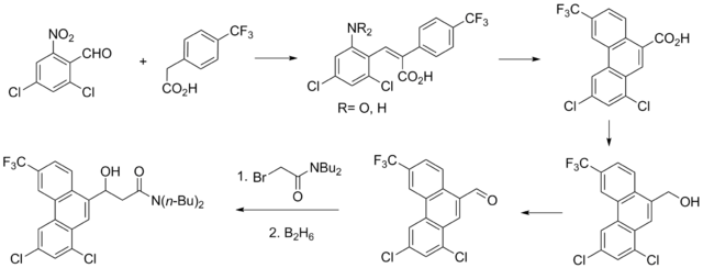 Halofantrine synthesis.png