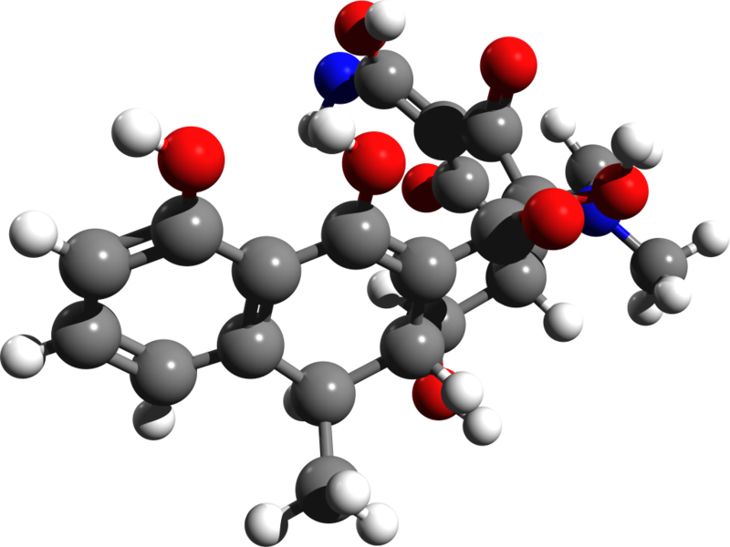 Doxycycline 3d structure.png