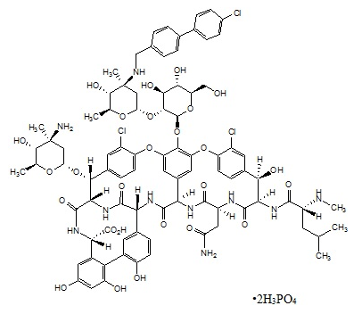 Oritavancin Chemical structure.png