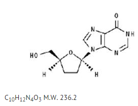 Didanosine Structural formula.png