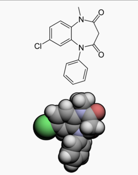 Clobazam chemical structure 2.png