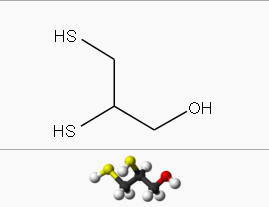 Dimercapril Chemical structure.png