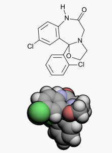 Cloxazolam Wiki Str.png