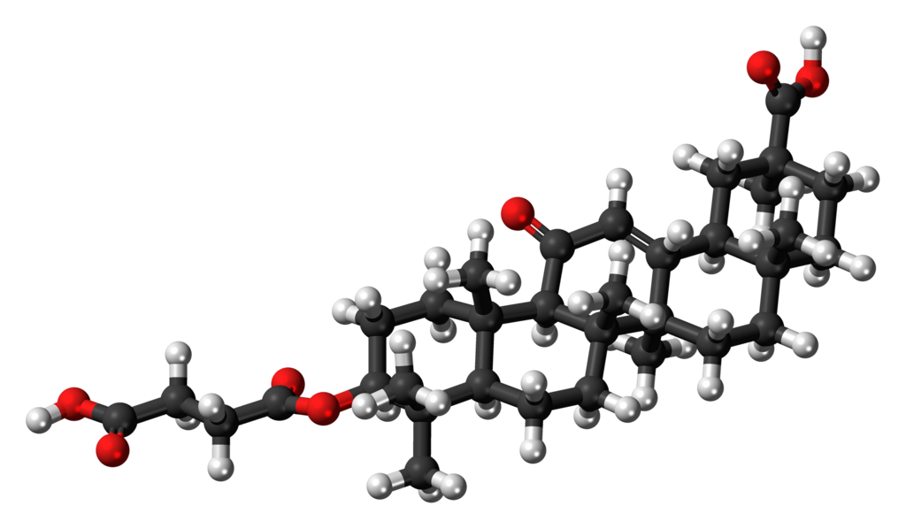 Carbenoxolone 3D ball.png