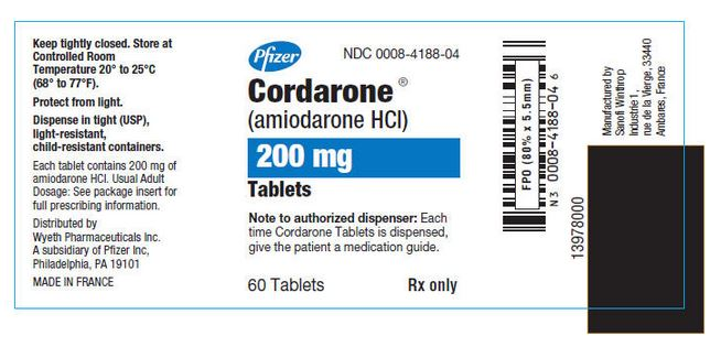 Cordarone Package Insert