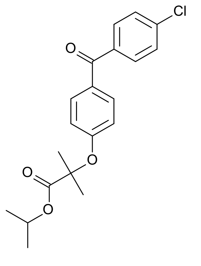 Fenofibrate structure.png