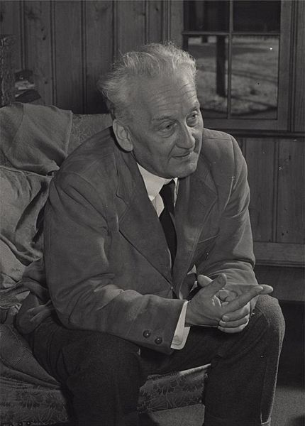 Albert Szent-Györgyi at the time of his appointment to the National Institutes of Health