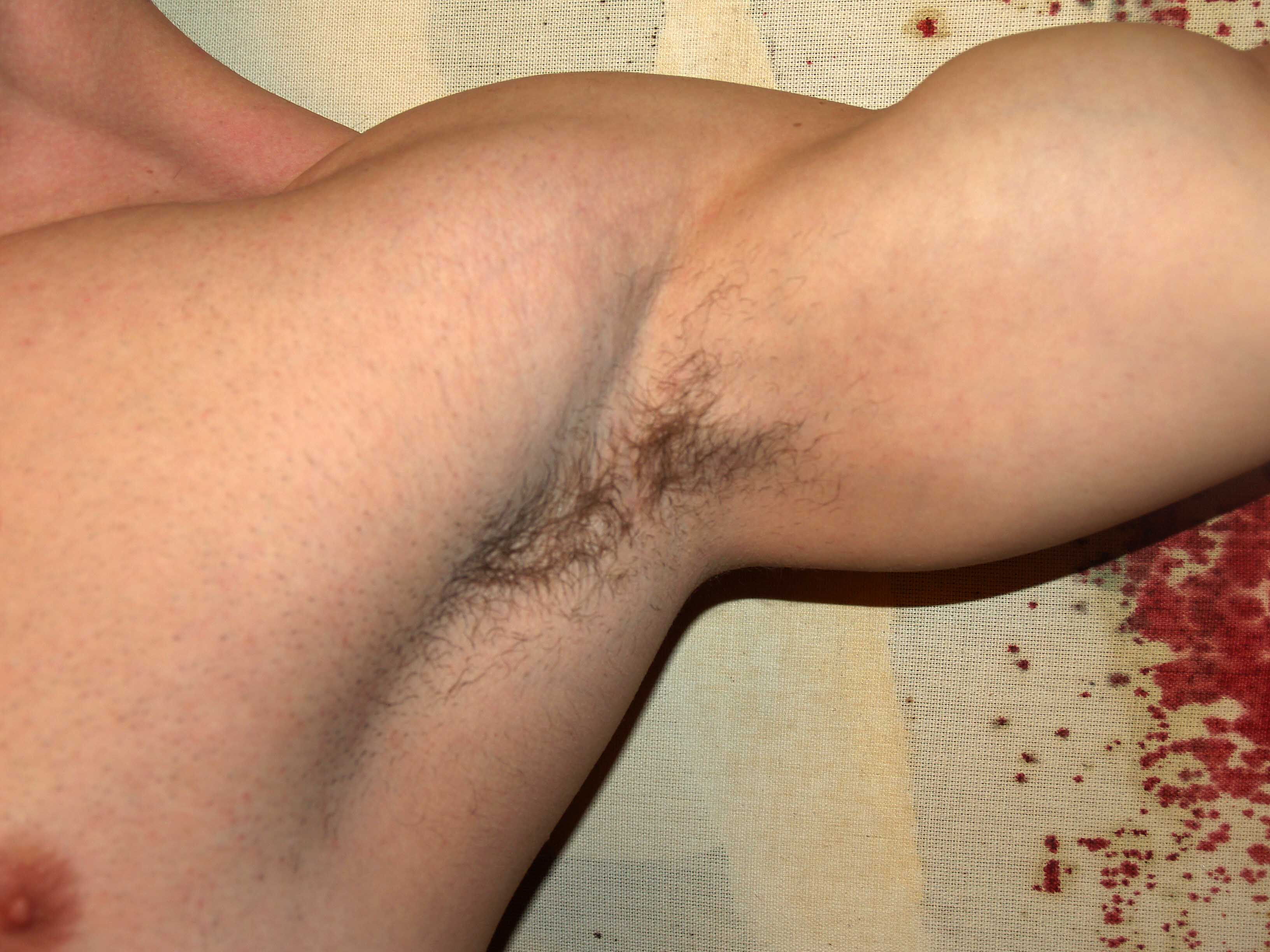 Shaved Boy Arm Pits