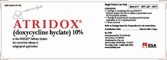 Doxycycline Subgingival Wikidoc