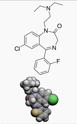 Flurazepam chemical structure 2.png
