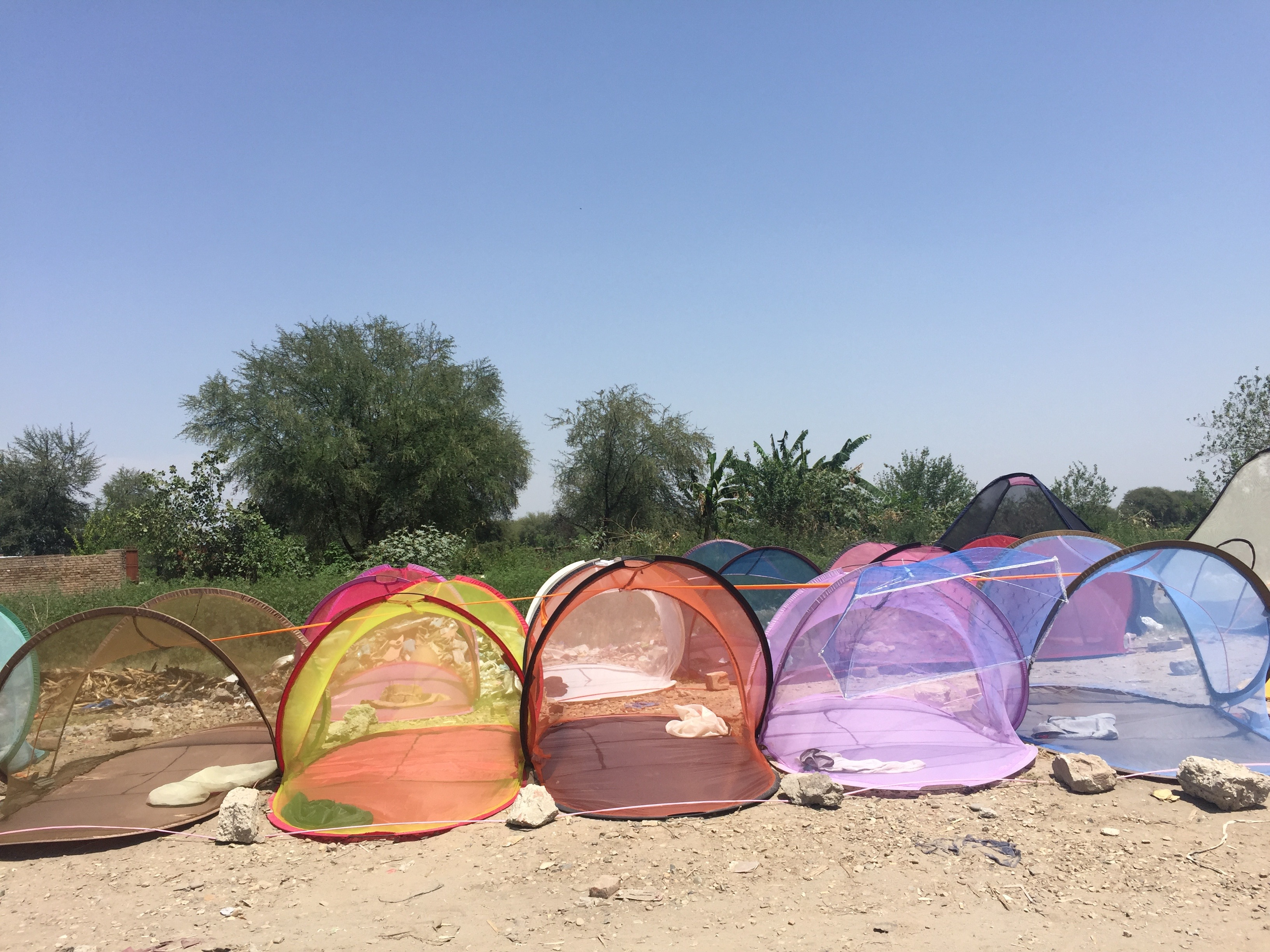 Mosquito nets in Pakistan