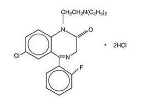 Flurazepam chemical structure.png