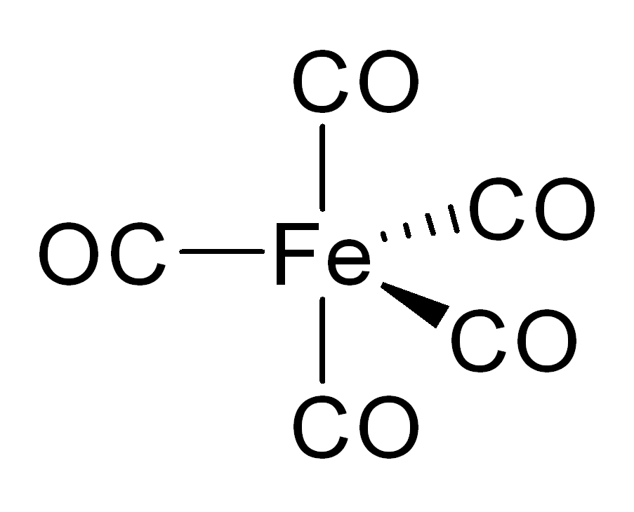 Structure of iron pentacarbonyl