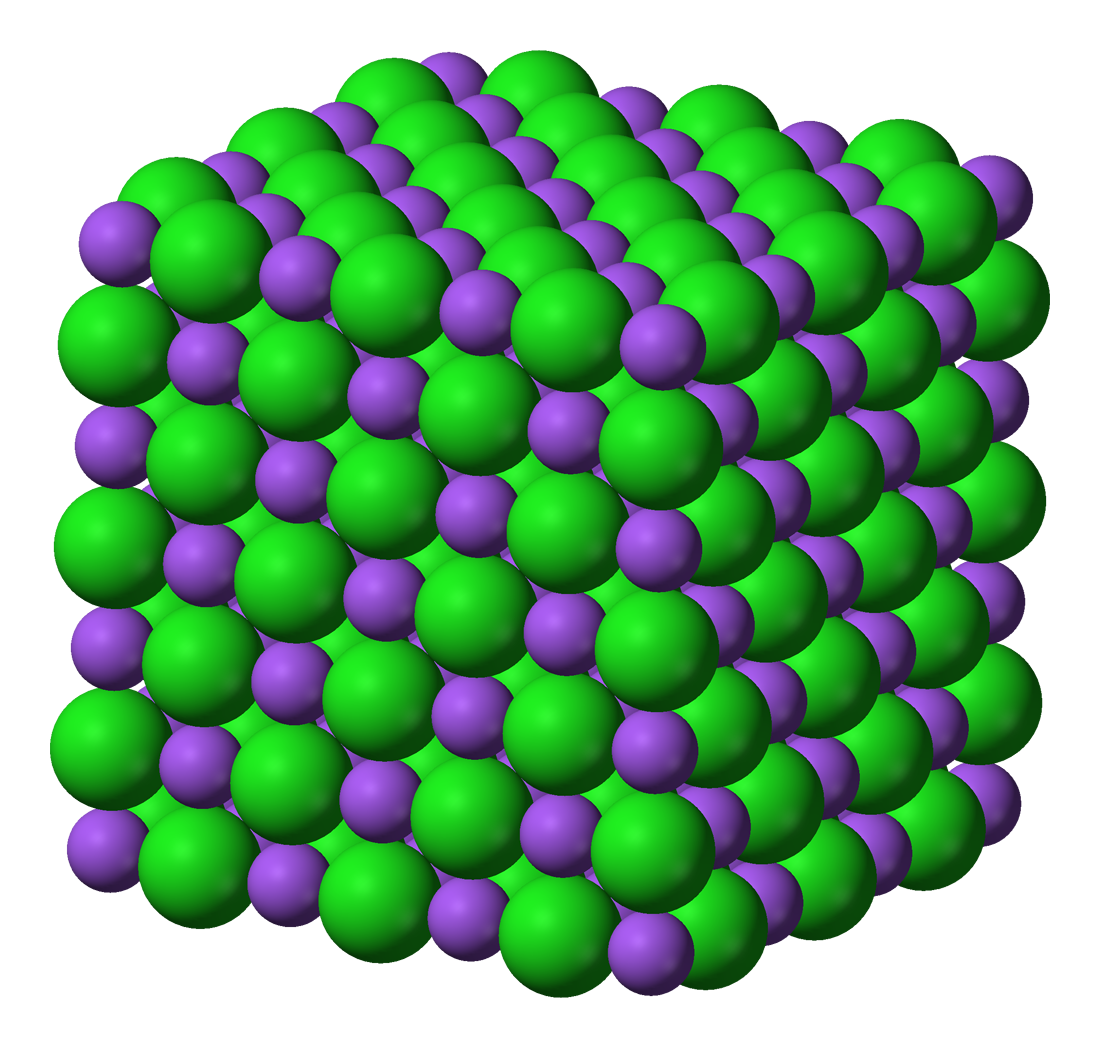 the ionic lattice Ionic compounds are compounds formed between a metal and nonmetal which have a crystalline lattice structure they can conduct electricity and are usually highly water soluble the ionic compounds can form one cohesive compound, such as potassium fluoride, or form more complex polyatomic ionic compounds, such as calcium carbonate.