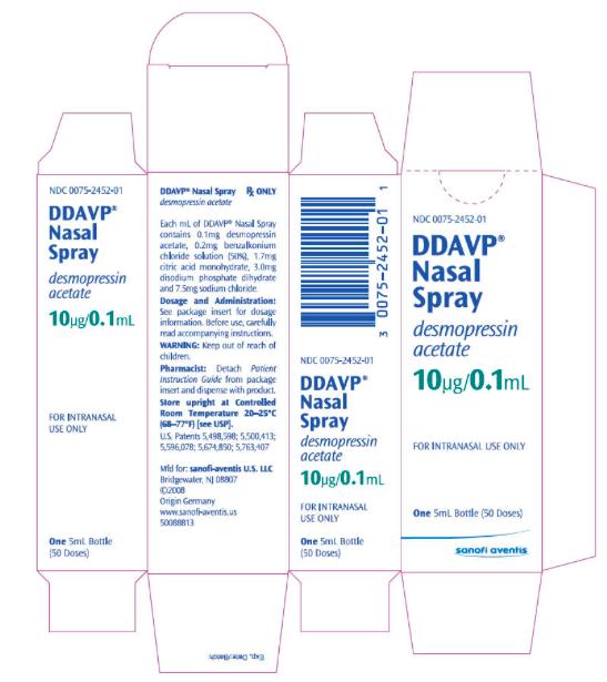 Ddavp Nasal Spray Dose