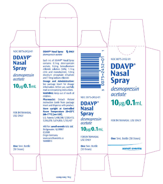 Ddavp Desmopressin Injection