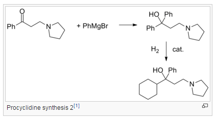 Procyclidine synthesis 2[1]