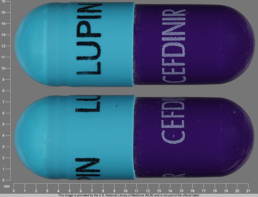 Cefdinir 300 Mg Capsule For Uti