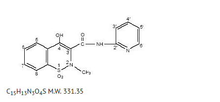Piroxicam structure.png