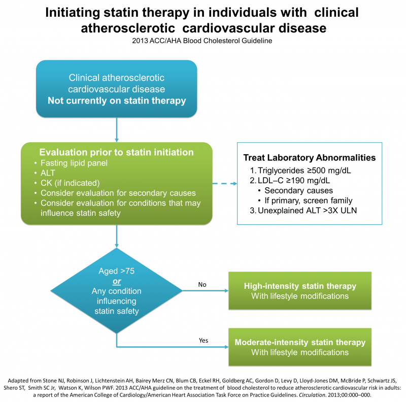 Statin therapy for ASCVD prevention