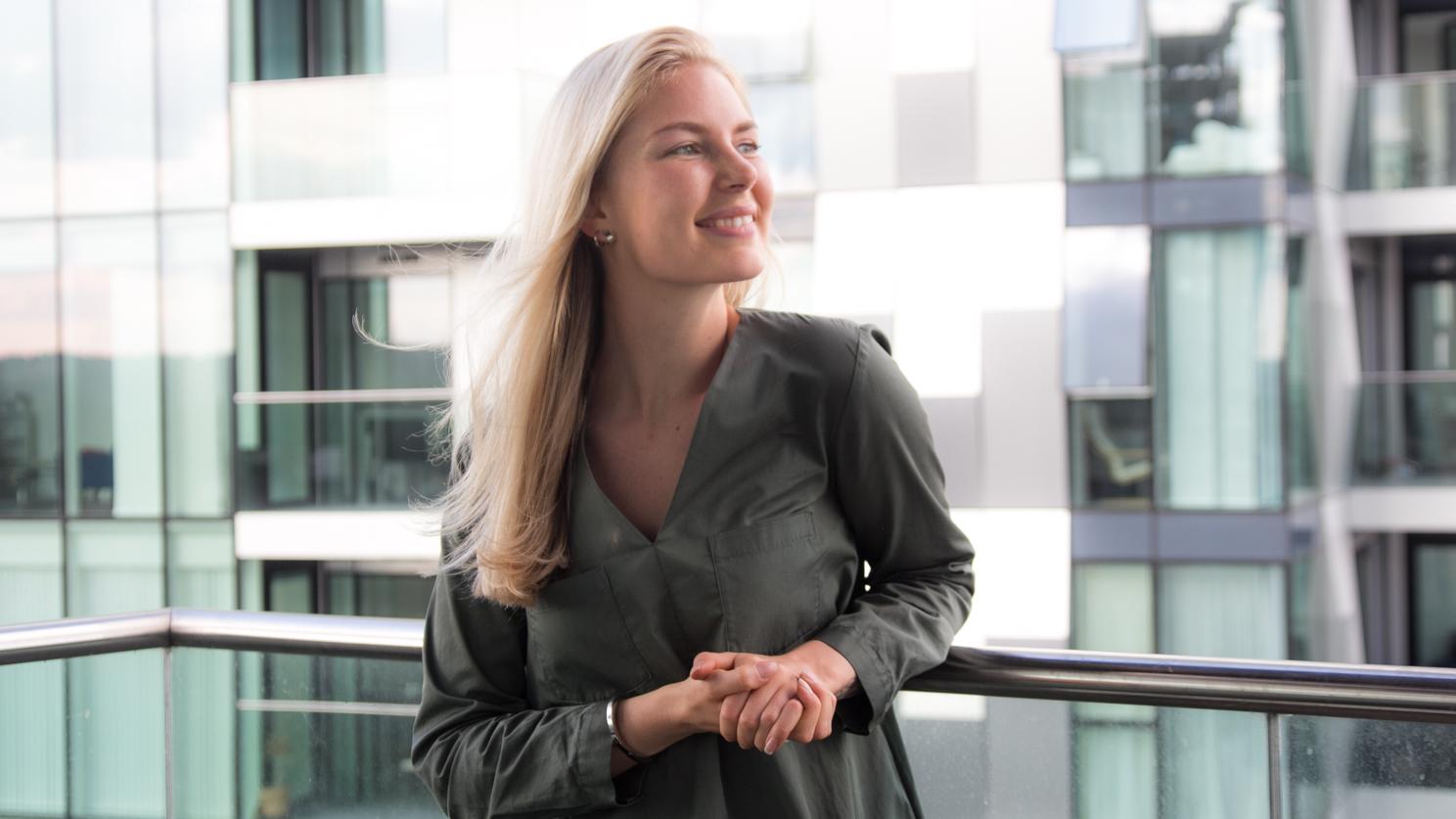 Rebekka Mikkola, Professional Cuddle Therapist