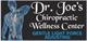 Dr. Joseph Sero, Chiropractor/Owner