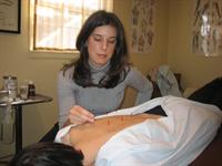 Christina Newman, Acupuncturist
