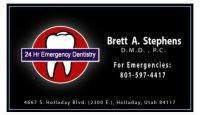 Brett Stephens, Dentist