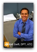 Matt Swift, DPT, ATC