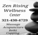 Zen Rising Wellness center, Owner