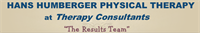 Hans Humberger Physical Therapy at Therapy Consultants