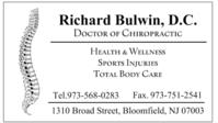 Dr RICHARD BULWIN DC, Chiropractor