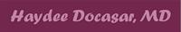 Haydee Docasar, Dr.