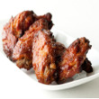 Asian barbecue chicken wings