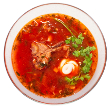 Dilled borscht