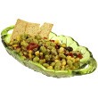 Edamame and penne salad with feta