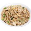 Egg-fried vegetable rice